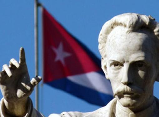 Estatua de Jose Martí.