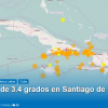 Sismo 3.4 grados en Santiago este viernes a las 4:09 p.m