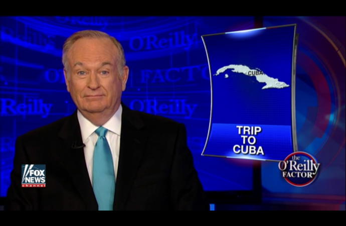 """'The Factor' in Cuba: O'Reilly Tells Socialist Sanders and His Supporters What He Saw There"" – Fox nation"
