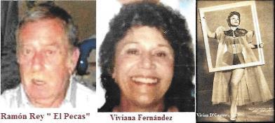 "Matrimonio ente expresos políticos cubanos. Ramón Rey y Viviana Fernández ""Vivian D'Castro""."