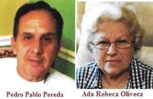 Matrimonio entre expresos políticos cubanos. Pedro P. Pereda y Ada Rebeca Olivera.