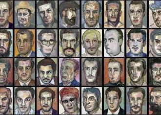 """""""120 retratos de fusilados del castrismo"""""""