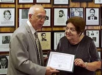 Marzo 04, 2017. Invitación de La Academia de la Historia de Cuba en el Exilio