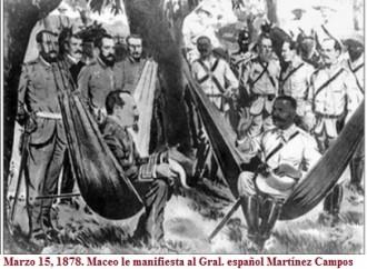 Marzo 15. Efemérides de la lucha del pueblo cubano por la Libertad.