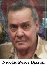 Fallece en Cayo Hueso, Fl. el expreso político cubano Nicolás Pérez Diez-Argüelles