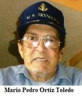 Muere en la Fl. el expreso político cubano Mario P. Ortiz Toledo.