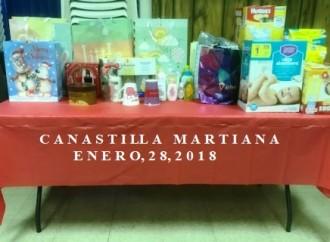 Canastilla Martiana. Para entregar el próximo 28 de Enero, 2018.