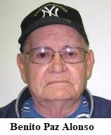 Nota de dolor. Fallece en New Jersey Benito Paz Alonso expreso político cubano