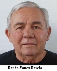 Falece en Miami, Fl. el expreso político cubano Renán Yanes Ravelo.